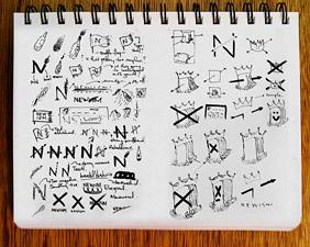 Newism Logo Sketches